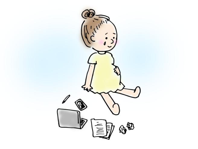 """何もしなくていい、ただいるだけでいい - It's ok to just """"be""""- illustration by Yumi Idomoto"""